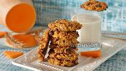 Фото рецепта Овсяно-тыквенное печенье без муки