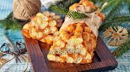 Фото рецепта Сладкая колбаса из кукурузных палочек