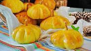Фото рецепта Булочки «Тыковки» на растительном масле