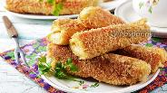 Фото рецепта Горячие бутерброды-трубочки