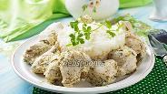 Фото рецепта Куриное филе в кефире на сковороде