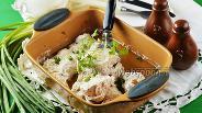 Фото рецепта Куриное филе в кефире в духовке