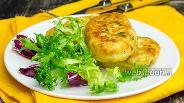 Фото рецепта Картофельные оладьи с сыром