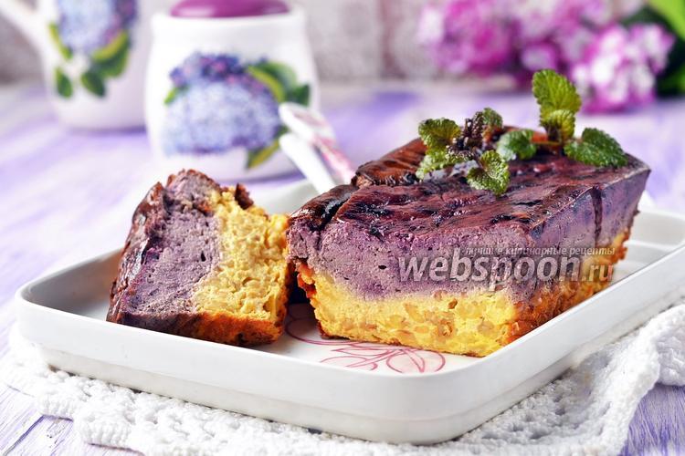 Блюда из черники и творога