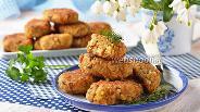 Фото рецепта Котлеты из сайры с рисом