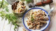 Фото рецепта Начинка для пирожков из рыбных консервов