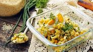 Фото рецепта Начинка для пирожков с рисом и яйцом