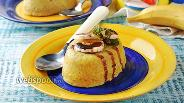 Фото рецепта Банановый пудинг в мультиварке