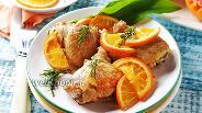 Фото рецепта Курица с апельсинами в мультиварке