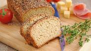 Фото рецепта Хлеб из овсяных отрубей по Дюкану
