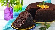 Фото рецепта Бисквит на кефире в мультиварке