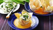Фото рецепта Корзиночки из лаваша