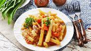 Фото рецепта Картошка с тушёнкой в мультиварке