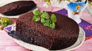 Фото рецепта Шоколадный банановый бисквит