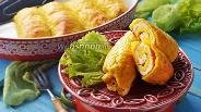 Фото рецепта Рулетики из картофеля с фаршем