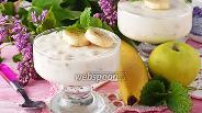 Фото рецепта Сметанное желе с фруктами