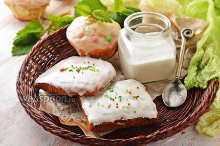 Глазурь из сахарной пудры и воды