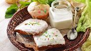Фото рецепта Глазурь из сахарной пудры и воды