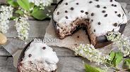 Фото рецепта Черёмуховый пирог со сметаной