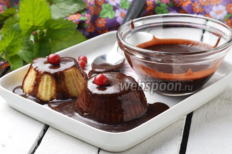 Фото Глазурь на воде из какао