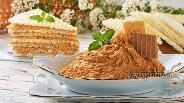 Фото рецепта Крем для вафельных коржей