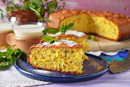 Пирог с мятой