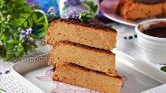 Фото рецепта Творожная запеканка со сгущёнкой в мультиварке