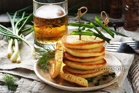 Оладьи на пиве