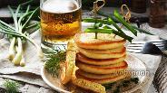 Фото рецепта Оладьи на пиве