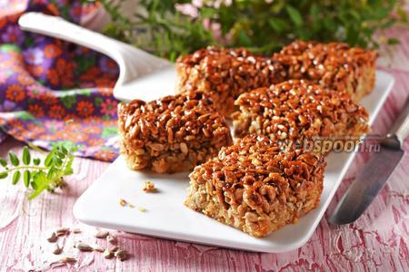 Фото рецепта Пирог с семечками