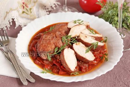 Курица по-итальянски
