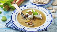 Фото рецепта Суп из ревеня с яйцом