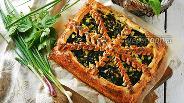 Фото рецепта Пирог с крапивой и яйцом