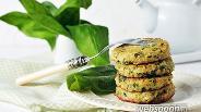 Фото рецепта Рыбные котлеты со шпинатом