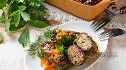Фото рецепта Голубцы с мясом и гречкой в томатно-сметанном соусе