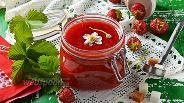 Фото рецепта Клубничное варенье без варки ягод