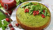 Фото рецепта Бисквит из шпината