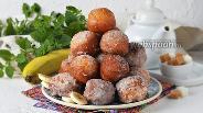 Фото рецепта Банановые пончики
