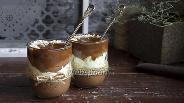 Фото рецепта Ванильно-шоколадный пудинг