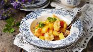 Фото рецепта Рагу из кабачка и цветной капусты в мультиварке