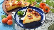 Фото рецепта Пирог с творогом и абрикосами