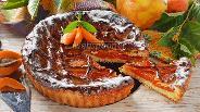 Фото рецепта Пирог с абрикосовым вареньем