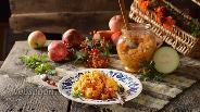 Фото рецепта Икра из кабачков с яблоками