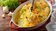 Фото рецепта Цветная капуста в кефире в духовке