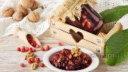 Фото рецепта Варенье из брусники с орехами