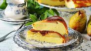 Фото рецепта Творожная запеканка с грушей в мультиварке