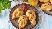Фото рецепта Булочки с грушей