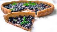 Фото рецепта Пирог с шелковицей