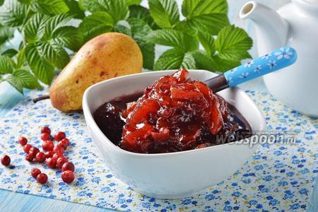 Варенье из брусники с грушами