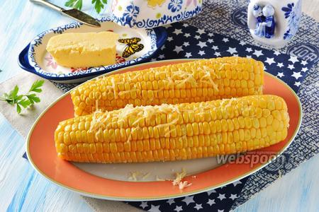Кукуруза в микроволновке за 5 минут